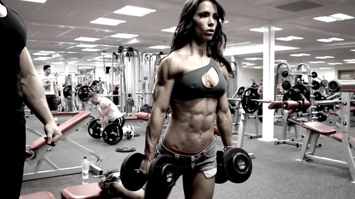 sports-font-b-fitness-b-font-models-andreia-brazier-dumbbells-font-b-gyms-b-font-athletic